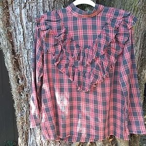 Zara plaid shirt